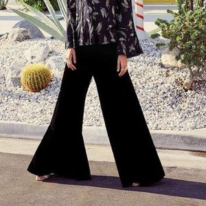 NWT Johnny Was Katya velvet tiered pants